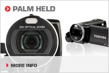 Find your ideal palm held camcorder