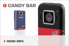 Candy bar camcorders