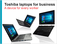 Toshiba laptops for business