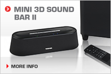 Mini 3D Sound Bar II